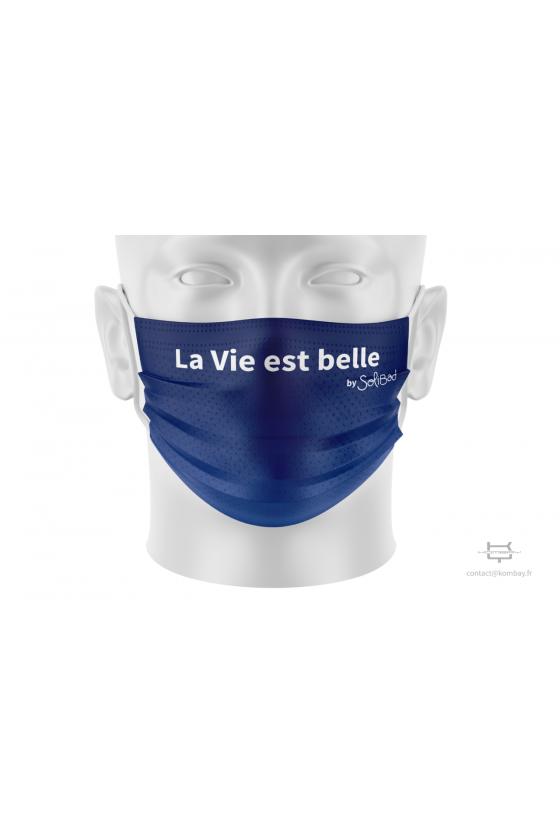 Masque de protection à plis...